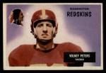 1955 Bowman #17  Volney Peters  Front Thumbnail