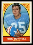 1967 Topps #48  Ode Burrell  Front Thumbnail