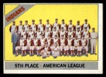 1966 Topps #303 DOT  Indians Team Front Thumbnail