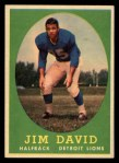 1958 Topps #13  Jim David  Front Thumbnail