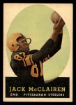 1958 Topps #51  Jack McClairen  Front Thumbnail