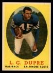 1958 Topps #117  L.G. Dupre  Front Thumbnail