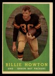 1958 Topps #6  Billie Howton  Front Thumbnail