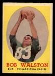 1958 Topps #87  Bob Walston  Front Thumbnail