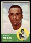 1963 Topps #432  Roman Mejias  Front Thumbnail