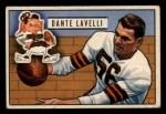 1951 Bowman #73  Dante Lavelli  Front Thumbnail
