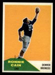 1960 Fleer #114  Ronnie Cain  Front Thumbnail