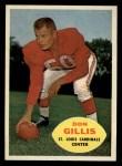 1960 Topps #108  Don Gillis  Front Thumbnail