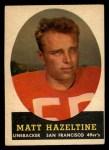 1958 Topps #100  Matt Hazeltine  Front Thumbnail