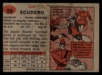 1957 Topps #98  Joe Scudero  Back Thumbnail