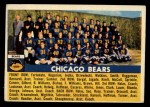 1956 Topps #119   Bears Team Front Thumbnail