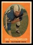 1958 Topps #14  Jim Mutscheller  Front Thumbnail