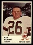1961 Fleer #13  Ray Renfro  Front Thumbnail