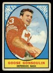 1967 Topps #34  Austin Goose Gonsoulin  Front Thumbnail
