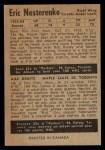 1954 Parkhurst #19  Eric Nesterenko  Back Thumbnail