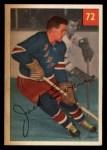 1954 Parkhurst #72  Jack Evans  Front Thumbnail
