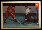 1954 Parkhurst #91   -  Red Kelly / Harry Lumley The Battle of the All-Stars Front Thumbnail