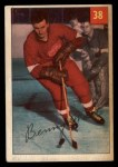 1954 Parkhurst #38  Benny Woit  Front Thumbnail