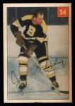 1954 Parkhurst #54  Joe Klukay  Front Thumbnail