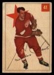 1954 Parkhurst #41  Gordie Howe  Front Thumbnail