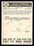 1959 Topps #162  Dan Currie  Back Thumbnail