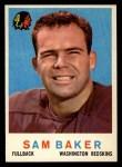 1959 Topps #175  Sam Baker  Front Thumbnail