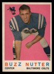 1959 Topps #78  Buzz Nutter  Front Thumbnail