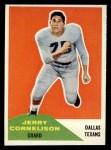 1960 Fleer #87  Jerry Cornelison  Front Thumbnail