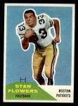 1960 Fleer #115  Stan Flowers  Front Thumbnail