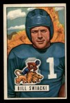 1951 Bowman #132  William Swiacki  Front Thumbnail