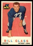 1959 Topps #122  Bill Glass  Front Thumbnail