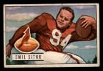1951 Bowman #139  Emil Sitko  Front Thumbnail