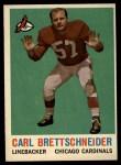 1959 Topps #81  Carl Brettschneider  Front Thumbnail