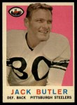 1959 Topps #22  Jack Butler  Front Thumbnail