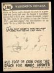 1959 Topps #168   Redskins Pennant Back Thumbnail