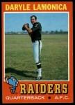 1971 Topps #70  Daryle Lamonica  Front Thumbnail