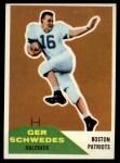 1960 Fleer #71  Gerhard Schwedes  Front Thumbnail