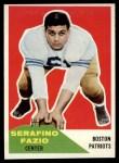 1960 Fleer #15  Serafino Fazio  Front Thumbnail