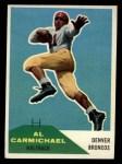 1960 Fleer #110  Al Carmichael  Front Thumbnail