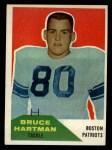 1960 Fleer #77  Bruce Hartman  Front Thumbnail
