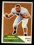 1960 Fleer #79  Gene Grabosky  Front Thumbnail