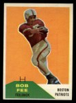 1960 Fleer #29  Bob Fee  Front Thumbnail