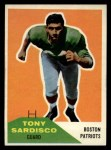 1960 Fleer #21  Tony Sardisco  Front Thumbnail