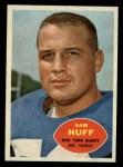 1960 Topps #80  Sam Huff  Front Thumbnail