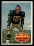 1960 Topps #58  Bill Forester  Front Thumbnail