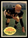 1960 Topps #97  Frank Varrichione  Front Thumbnail