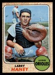 1968 Topps #42  Larry Haney  Front Thumbnail