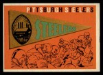 1959 Topps #9   Steelers Team Checklist Front Thumbnail