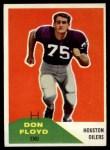 1960 Fleer #113  Don Floyd  Front Thumbnail