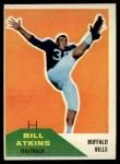 1960 Fleer #24  Bill Atkins  Front Thumbnail